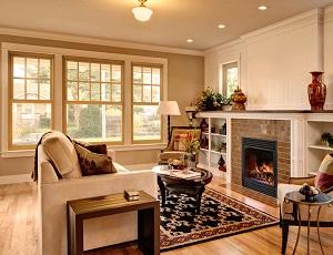 double hung wood windows